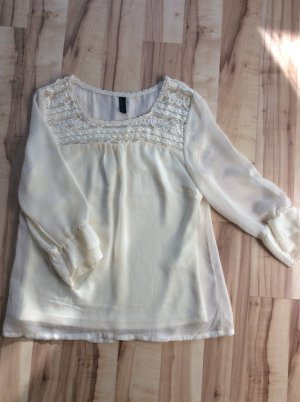 Cremefarbene Bluse - Vero Moda