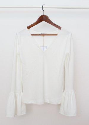 Long Sleeve Blouse cream-natural white