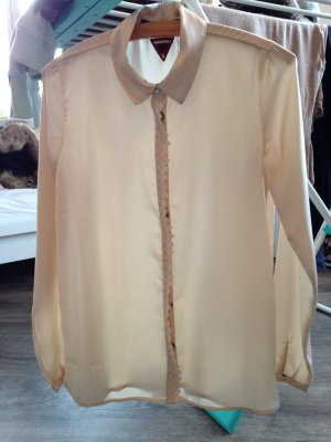 Cremefarbene Bluse von Maison Scotch Größe 1(S)