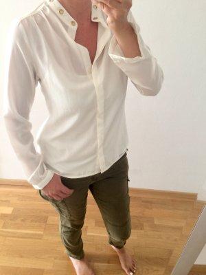Cremefarbene Bluse von Michael Kors
