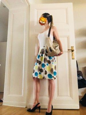 Cremefarbene Esprit Damen Handtasche mit Innentaschen