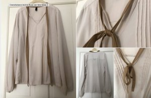 Cremefarbene leichte Bluse von Vero Moda