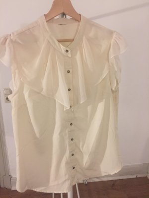 H&M Tie-neck Blouse cream