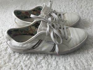 Cremefarbene Sneakers von Esprit Gr. 39