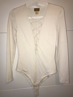 H&M Shirt Body natural white