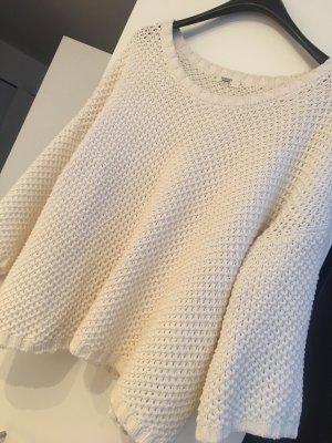 Cremefarbener Pullover
