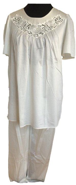 Cremefarbener Pyjama von Fürstenberg