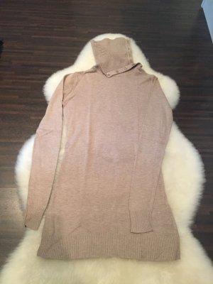 Cremefarbener (Rollkragen) Pullover