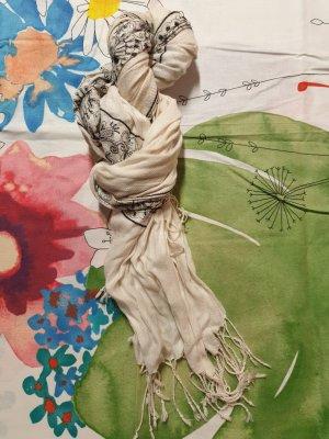 cremefarbener Schal von H&M