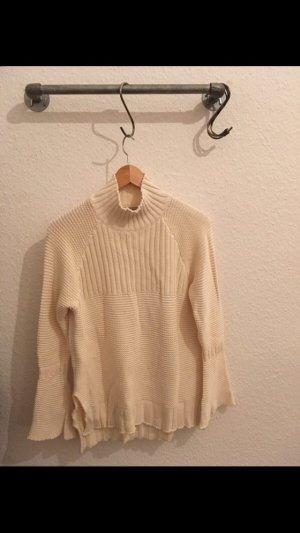 Bellfield Knitted Sweater cream-natural white