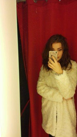 Promod Fake Fur Jacket multicolored