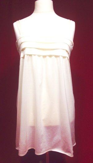 Hanro Pijama crema-blanco puro Algodón