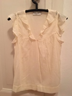 Flounce Top natural white cotton