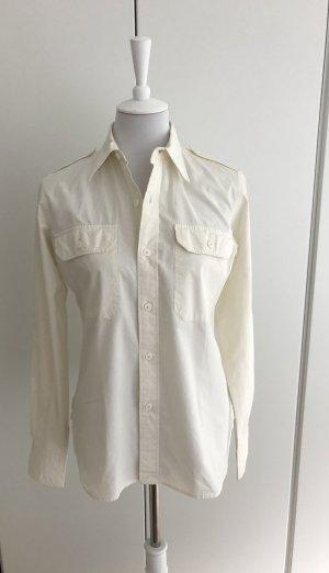 Cremefarbige Bluse von Ralph Lauren