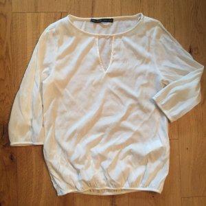 Cremeweisse Bluse von Zara