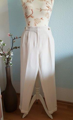 Forever 21 Pantalon à pinces blanc-blanc cassé