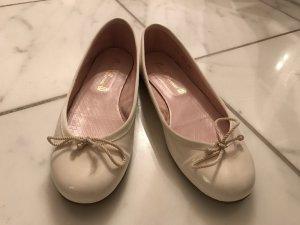 Cremeweisse Pretty Ballerinas - wie neu