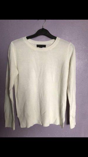 Cremeweisser Pullover