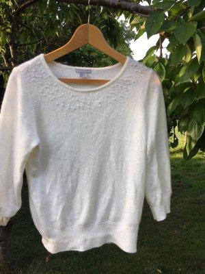 H&M Wool Sweater natural white-white