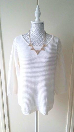 cremeweisser Pullover von Reserved
