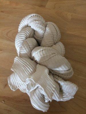 Cremeweißer Schal/ Tuch
