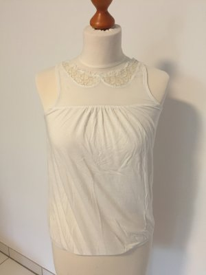 American Eagle Outfitters Lace Top cream-natural white