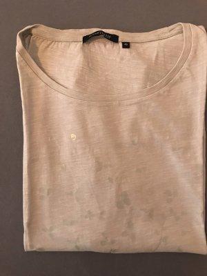 Cremeweißes Tshirt von Mark Adam