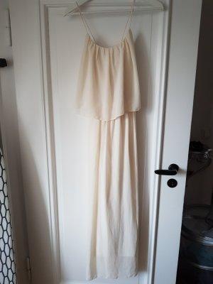 cremfabiges Kleid