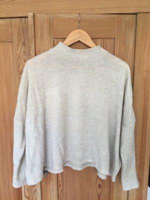 H&M Jersey kimono blanco puro