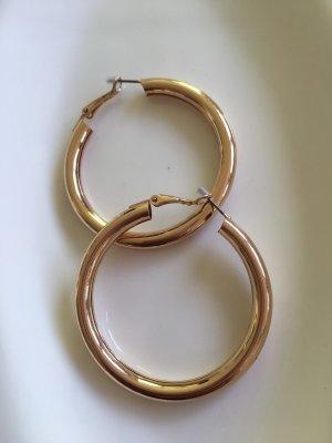 Bijou Brigitte Ear Hoops gold-colored