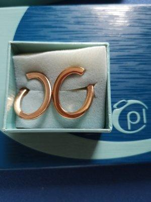 Pierre Lang Ear Hoops rose-gold-coloured