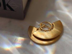 Creolen goldfarben Boho-Look