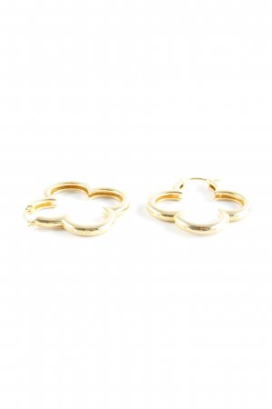 Ear Hoops gold-colored elegant