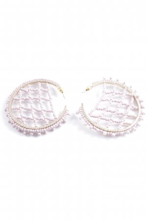 Ear Hoops light pink-gold-colored casual look