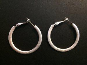 Creolen in Silber   Medium Hoop Earrings