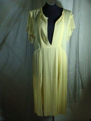 Robe tunique jaune