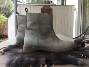 Crick it Chelsea Boots pale green leather