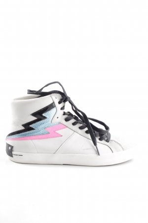 Crime High Top Sneaker multicolored casual look
