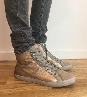 Crime - Leder High Top Sneaker