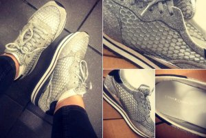 Crime London Glitzer Sneaker