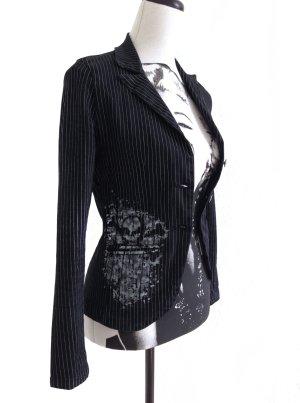 CRIMINAL DAMAGE Pin Up Gothic Punk Jacket Blazer Jacke – S