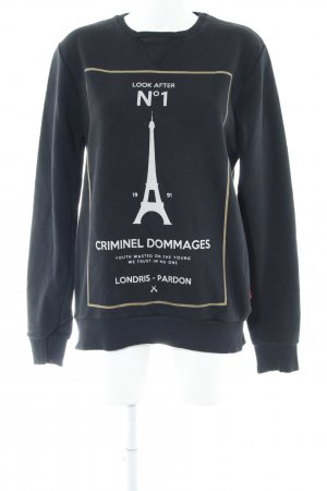 Criminal Damage Sweatshirt mehrfarbig Casual-Look