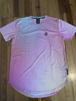 Criminal Damage Mesh Shirt pink-apricot