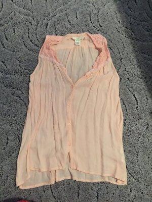 Crinkle Bluse rosa Gr.S / 164