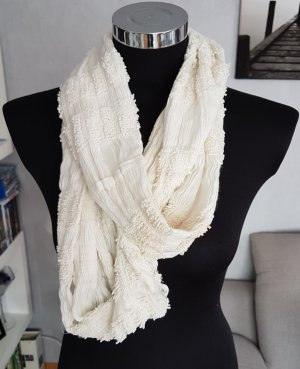 Tube Scarf natural white