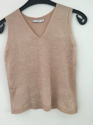 Mango Knitted Top multicolored