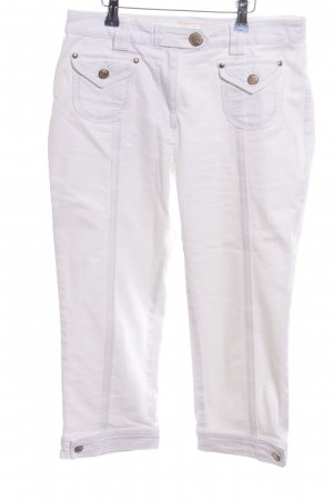 Crisca 7/8 Length Jeans white casual look