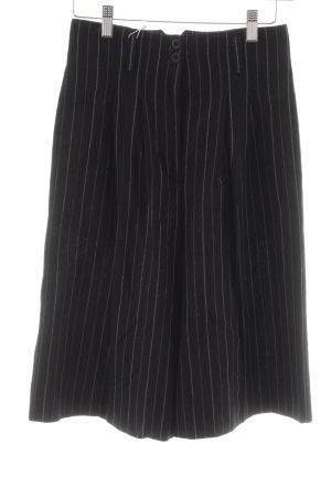 Crisca Shorts Nadelstreifen Casual-Look