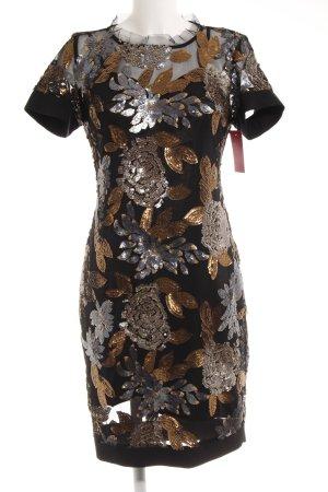 Cristina Effe Abito con paillettes motivo floreale stile casual