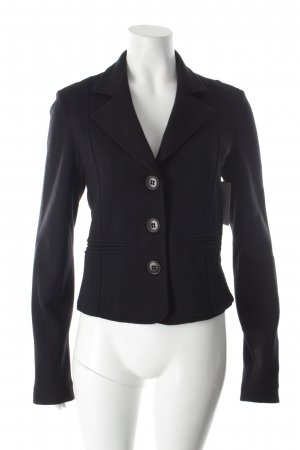 Cristina Gavioli Sweatblazer schwarz Business-Look
